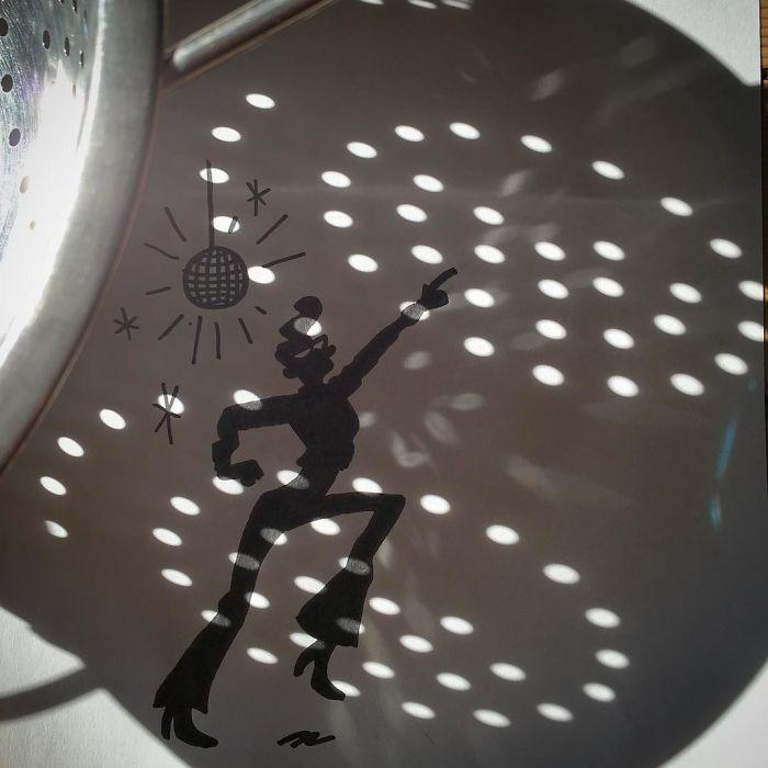 Belgium Artist Vincent Bal Shadow Art 05.
