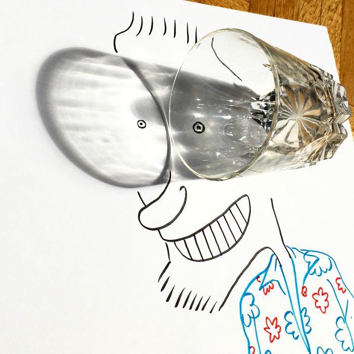 Belgium Artist Vincent Bal Shadow Art 09.