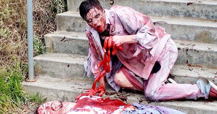 SA Wardega Zombie Apocalypse Halloween Prank 01.