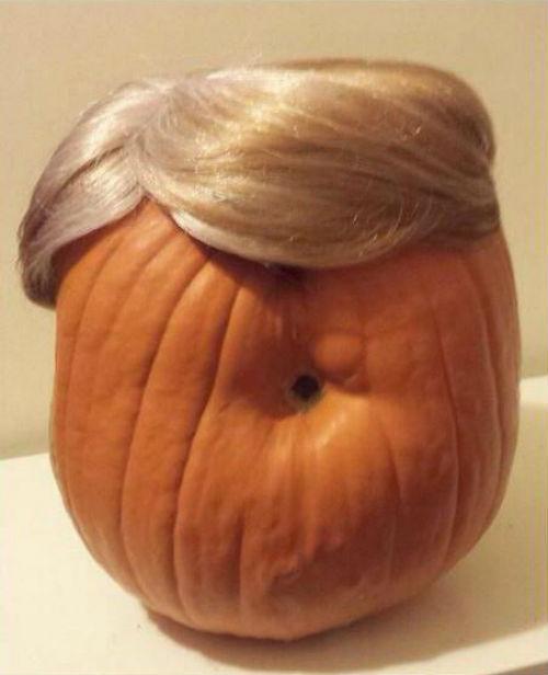 Trumpkins Will Your Halloween Pumpkins Look Scary 04.
