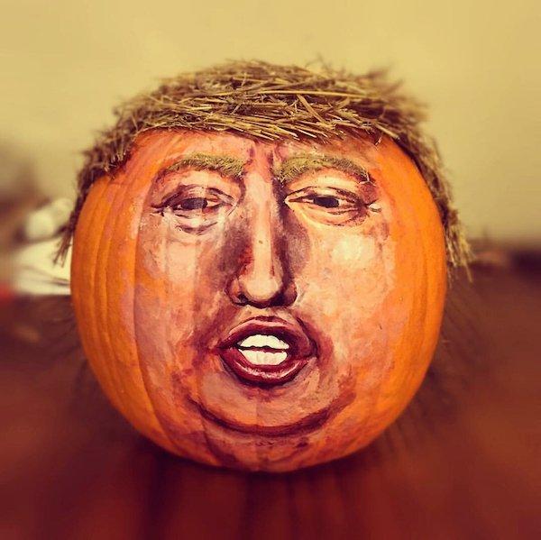 Trumpkins Will Your Halloween Pumpkins Look Scary 08.