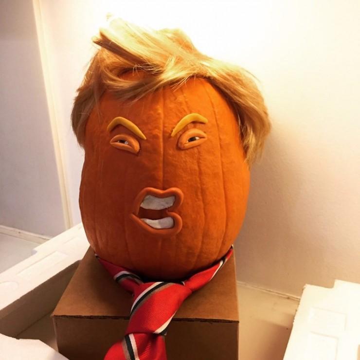 Trumpkins Will Your Halloween Pumpkins Look Scary 09.