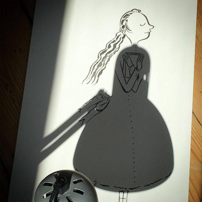 Belgium Artist Vincent Bal Shadow Art 11.