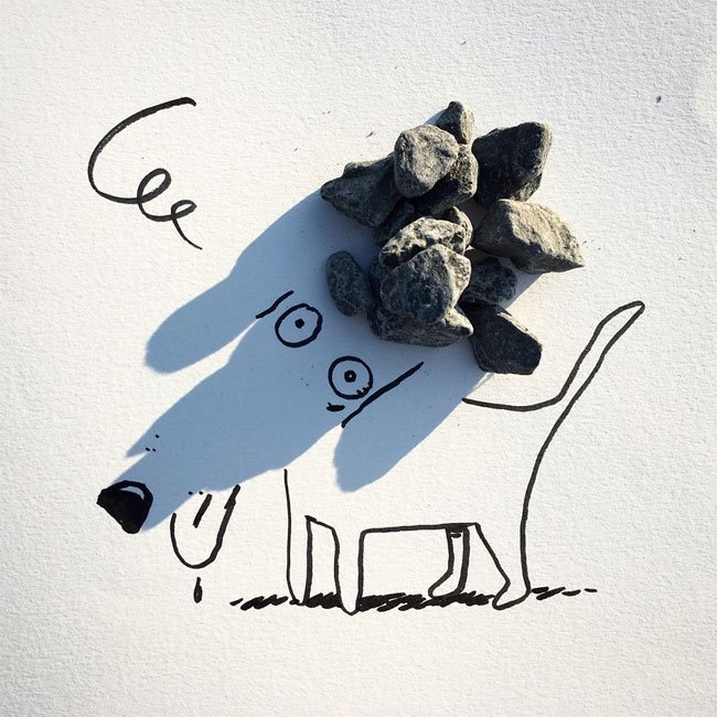 Everyday Objects Tuned Into Awesome Doodles 14.