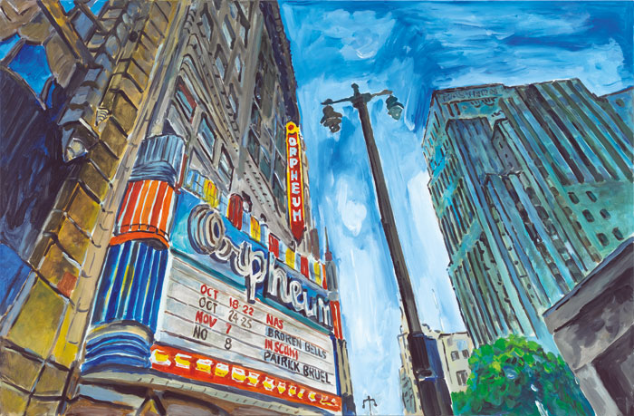 Theater,-Downtown-LA,-2015–2016.-Acrylic-on-canvas,-139.7-x-213