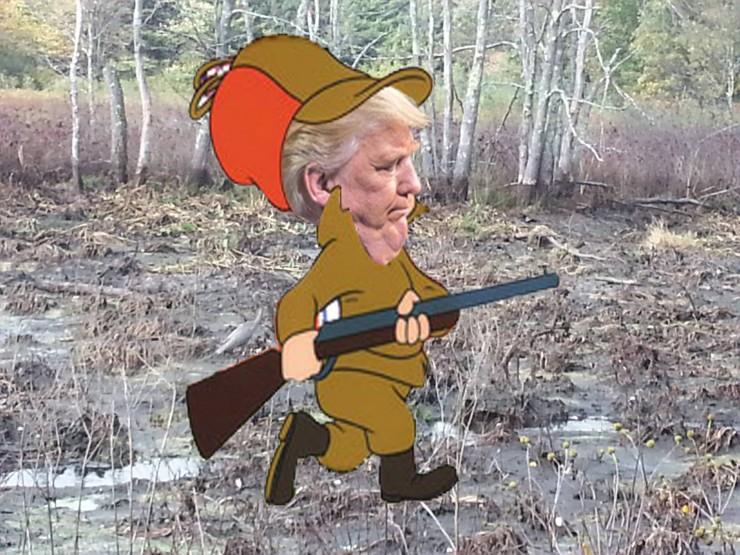 Very Funny Trump Photoshop Battle 09.