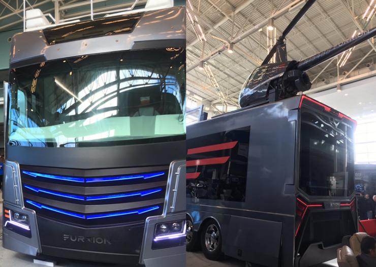 Furrion Elysium Luxury RV at CES 2017