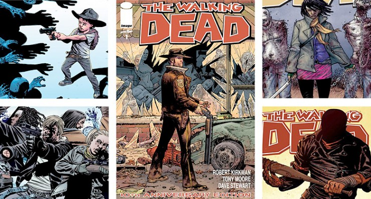 The Walking Dead Season 7 Dead Comic and Story Synch.