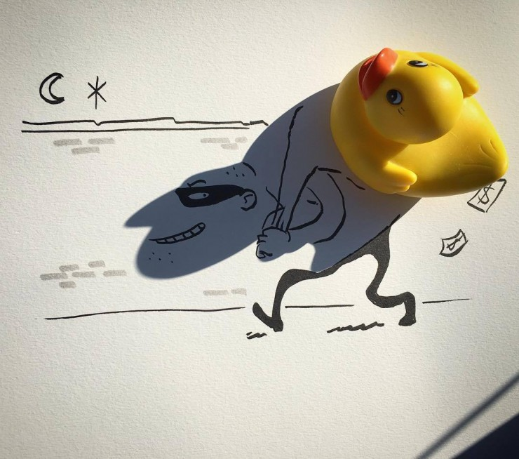 Everyday Objects Are Tuned Into Awesome Doodles 01.