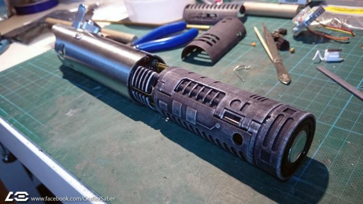 Star Wars Graflex Lightsaberr 01.