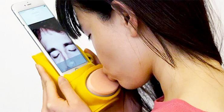Kissenger The Kissing App.