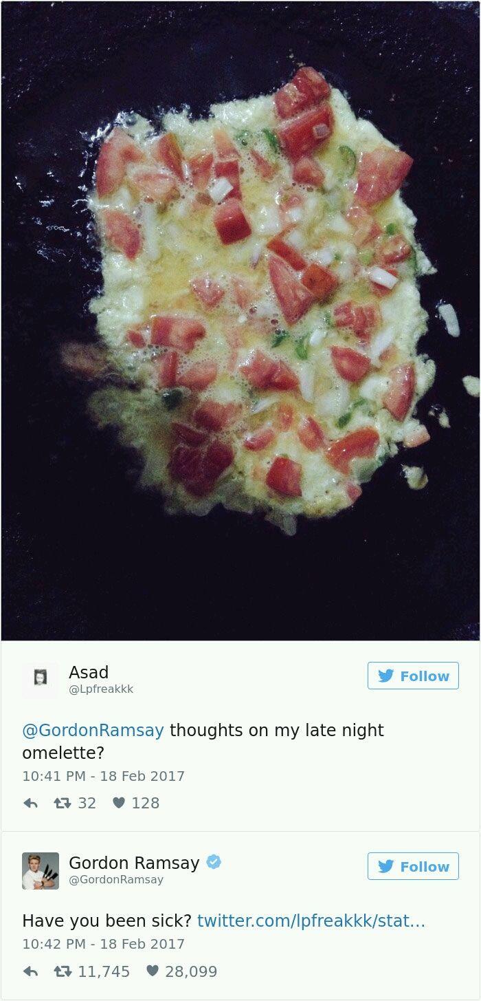 Gordon Ramsay Twitter roasts - 23.