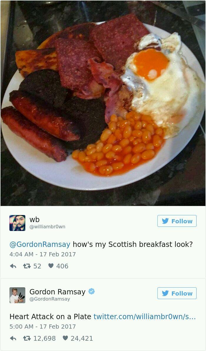 Gordon Ramsay Twitter roasts - 24.