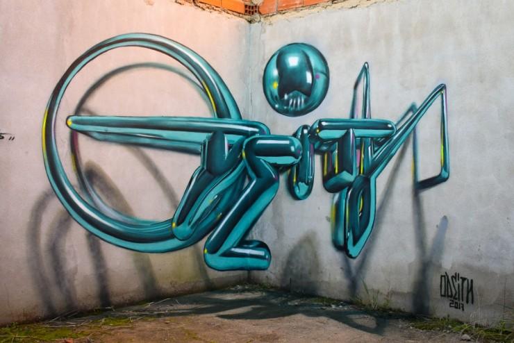 Sergio Odeith's Anamorphic 3D Graffiti Letters 22.