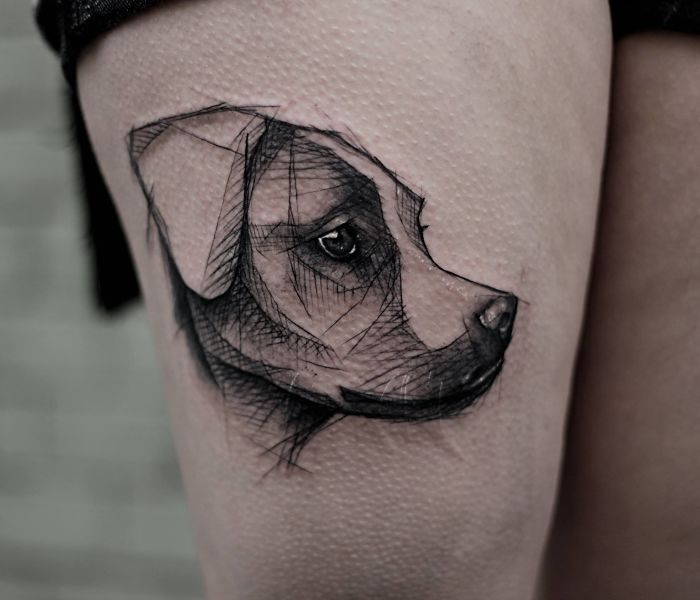 Dog Tattoos - 09.