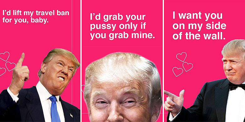 These Donald Trump Valentines Cards Will Get You Dumped