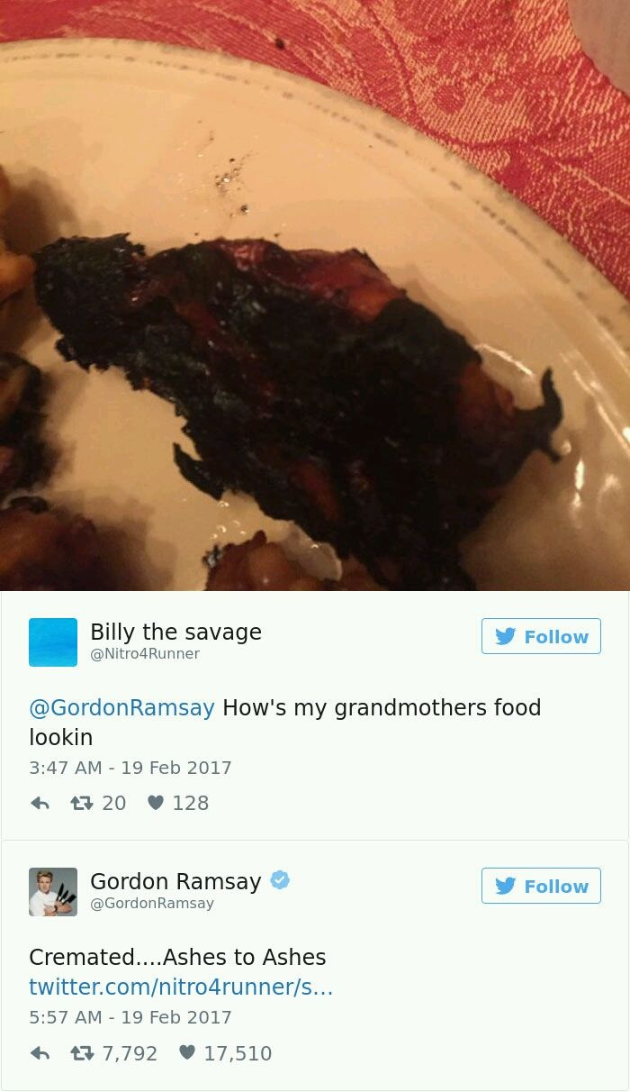 The Gordon Ramsay Twitter Roasts Are Hilarious - 04.