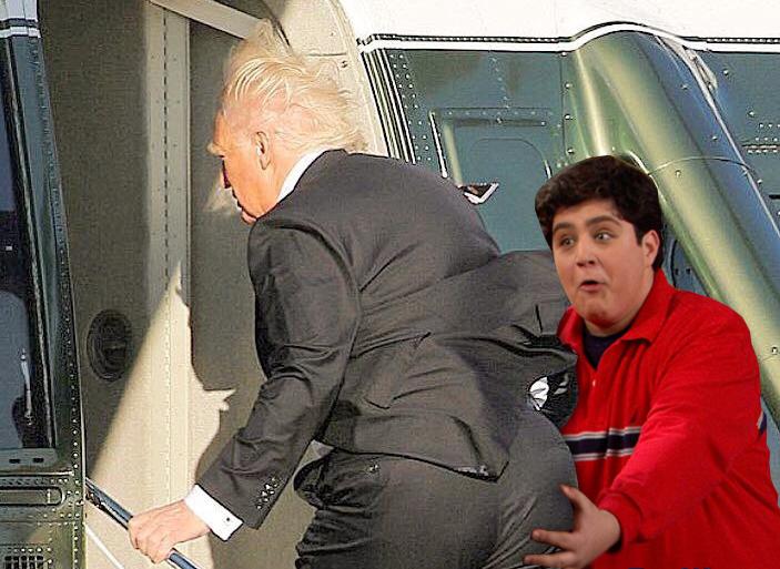 trump's butt 11.