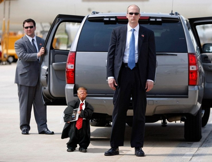 Tiny Trump Memes shrink Donald Trump to the size of a Child 08.