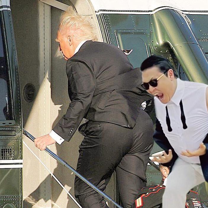 trump's butt 13.