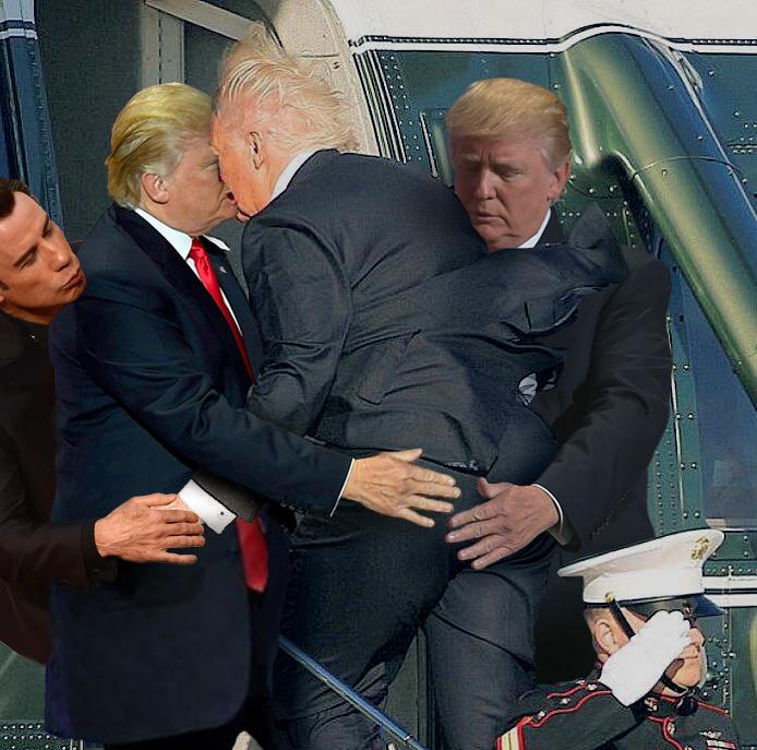 trump's butt 14.