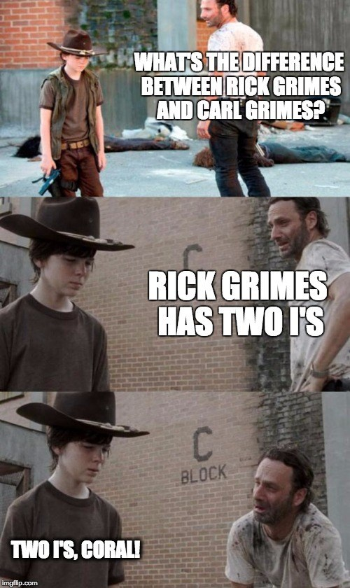 The Walking Dead Carl Meme 77.