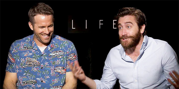 Life Movie: Ryan Reynolds and Jake Gyllenhaals Epic NSFW interview - 78.