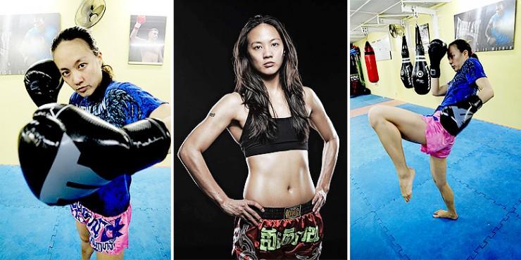 Muay Thai Champion Germaine Yeap - 92.