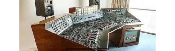 The Pink Floyd Dark Side Of The Moon Recording Console - 02.