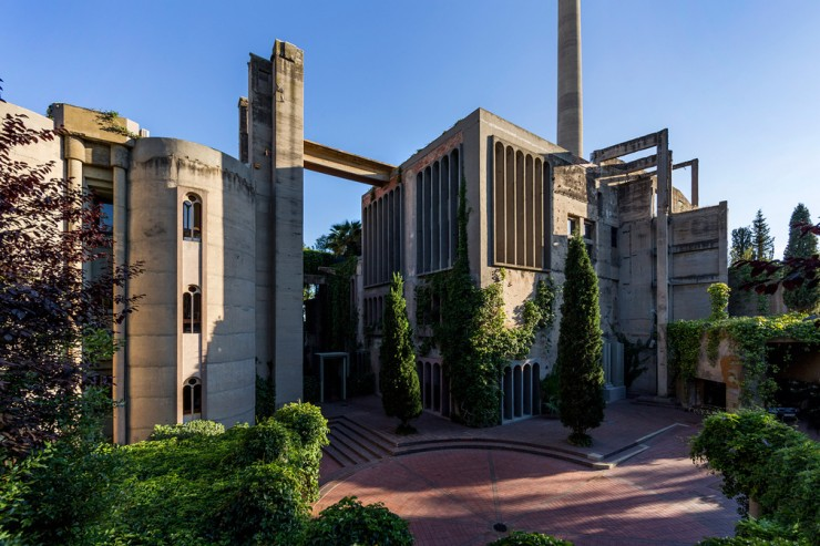 Ricardo Bofill Turns Cement Factory 02.