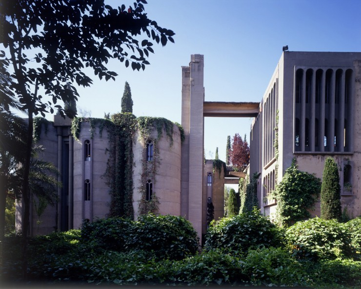 Ricardo Bofill Turns Cement Factory 03.