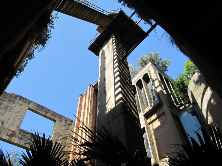 Ricardo Bofill Turns Cement Factory07.