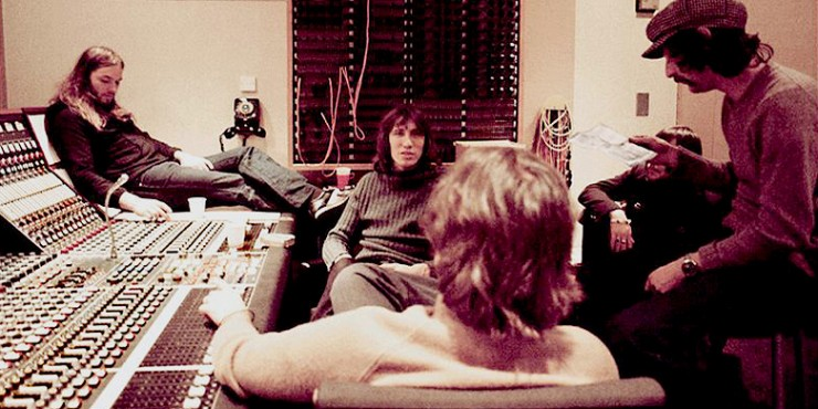 Pink Floyd Dark Side Of The Moon Recording Console Abbey Road