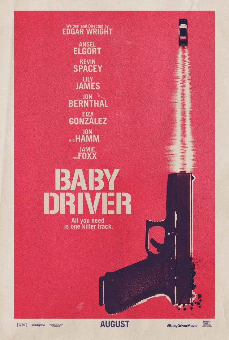 baby driver poster.