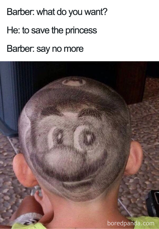 say no more barber meme - 10.