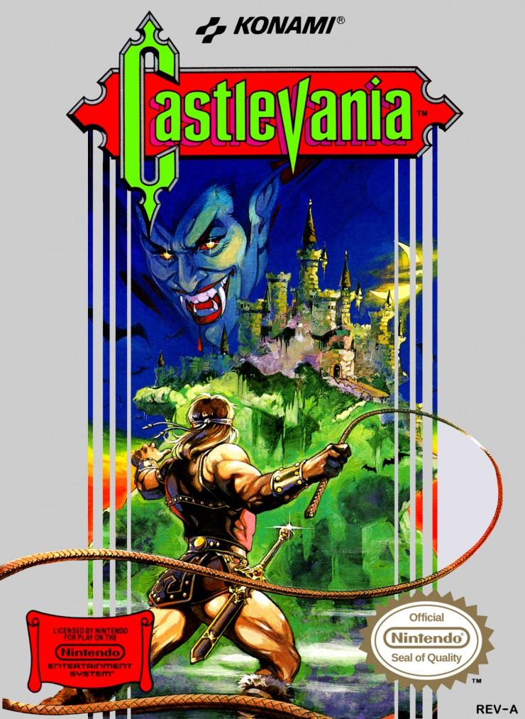 castlevania original cover art