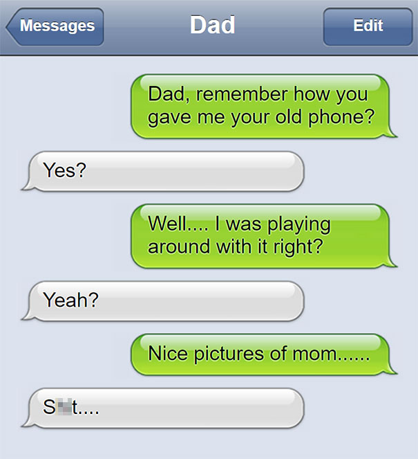 messages from parents - 05.