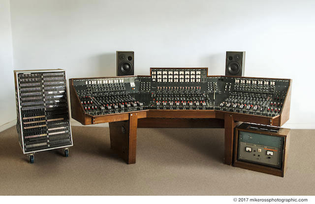 The Pink Floyd Dark Side Of The Moon Recording Console - 01.