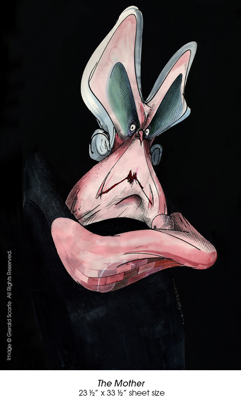 Gerald Scarfe pink floyd the wall - 04.