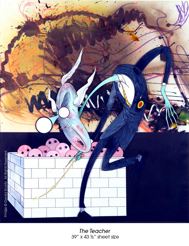 Gerald Scarfe pink floyd the wall - 08.