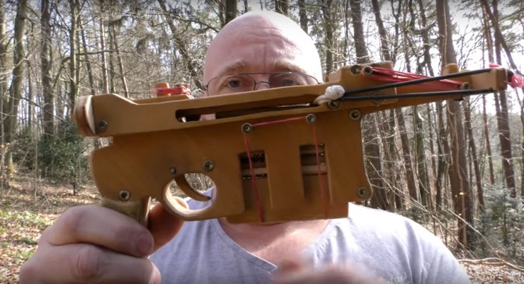 IKEA Pencils Get Weaponized Into Crazy Homemade Slingshot Ammo - 99.
