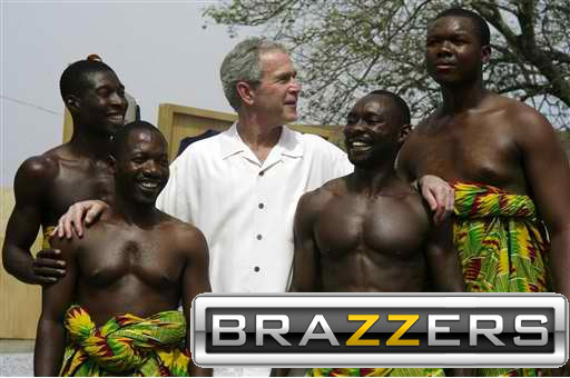 brazzers meme Bush.