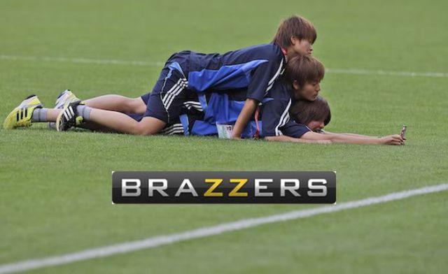 brazzers meme Soccer.