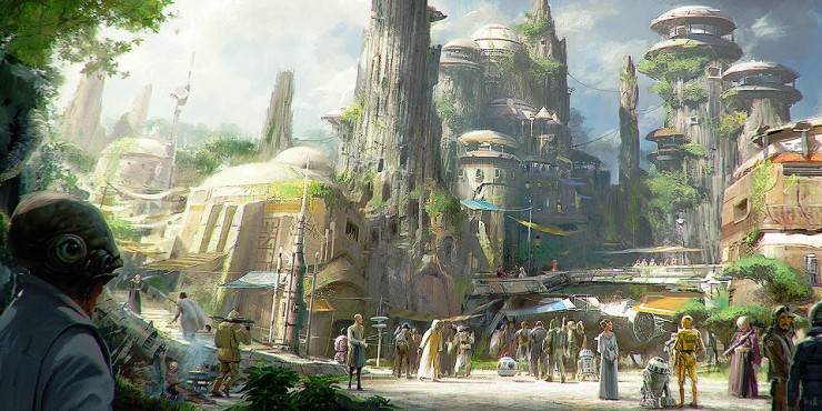 Disneyland Unveils More Disney Star Wars Land Details - 97.