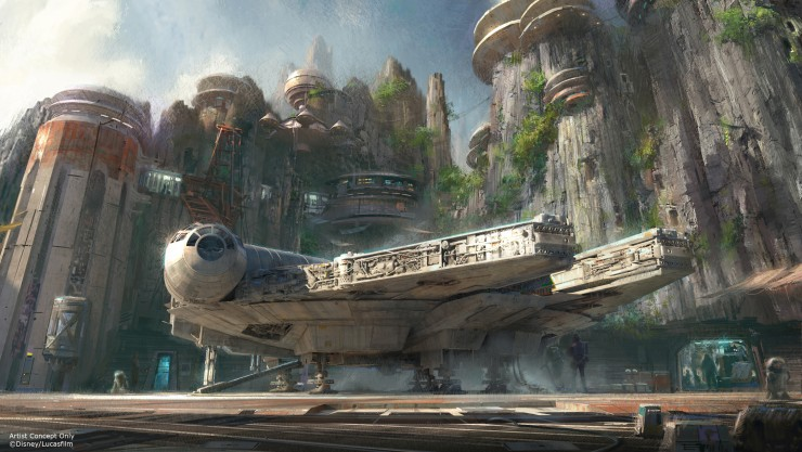 Disneyland Unveils More Disney Star Wars Land Details - 94.