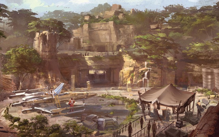 Disneyland Unveils More Disney Star Wars Land Details - 95.