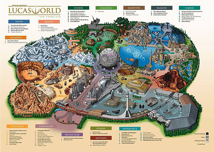 Disneyland Unveils More Disney Star Wars Land Details - 90.
