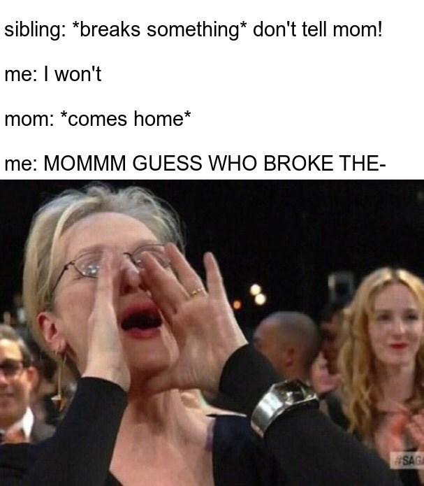 Growing Up With Siblings Memes 02.