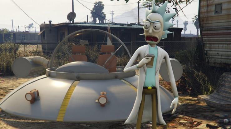 Rick and Morty GTA V Mod 01.
