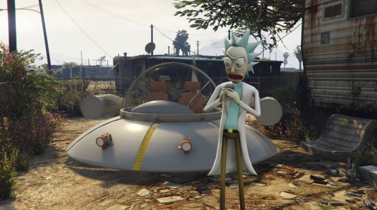 Rick and Morty GTA V Mod 03.